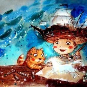 Встреча и занятие с детским иллюстратором из Перми