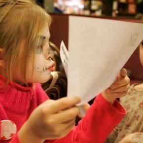 Детские чтения в книжном кафе