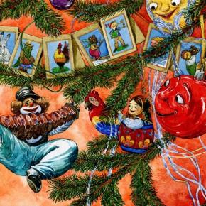 """Воскресные чтения: """"Приключения новогодних игрушек"""""""
