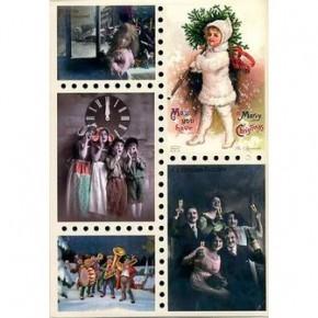 Рождественское чудо: старинные открытки и иллюстрации
