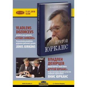 """Vladlens Dozorcevs piedāvā grāmatu """"Citāds Jurkāns"""""""