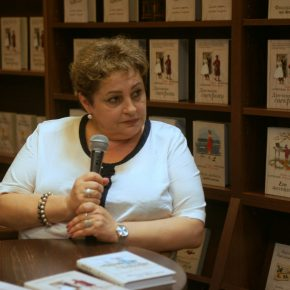 Фото и видео встречи с Марией Метлицкой