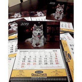 Календарь Polaris на 2019 год